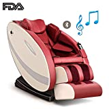 RDJM Massagesessel Mit Wärmefunktion - Massagestuhl - Rückenmassage, Beinmassage, Arm Massage Und Musiktherapie