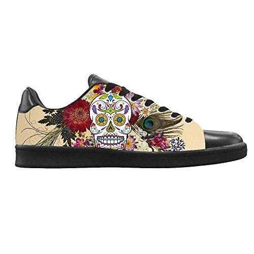 Dalliy Segeltuchschuhe Rose schuh Canvas top Schuhe Shoes turnschuhe And D Red Men's Leinwand High Skull Sneakers Lace up RRxBpwq