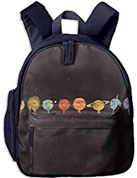 Cartoon Lovely Planet Toddler Kids Pre School Bag Cute 3D Print Children School Backpack
