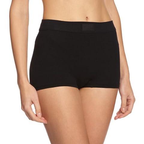 Sloggi Double Comfort High Rise Women's Shorts Black Size 14