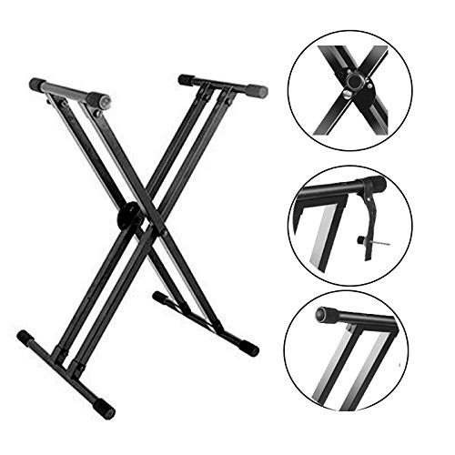 Kadence Keyboard Stand With Dual Braced Support Legs