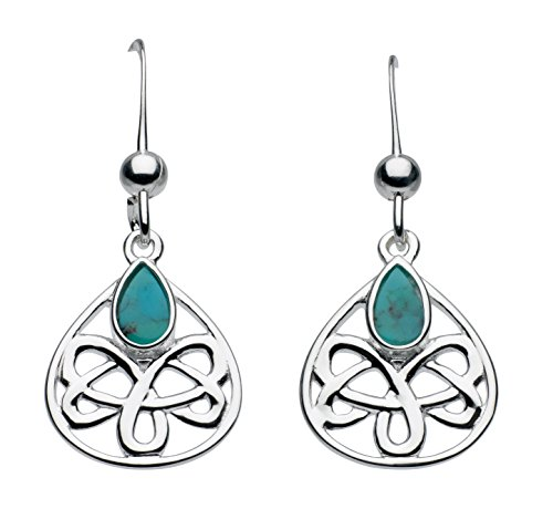 heritage-sterling-silver-and-turquoise-celtic-looped-teardrop-earrings