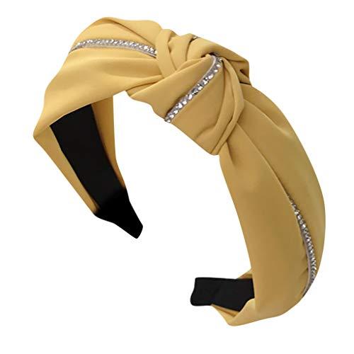 LSAltd Mode Bogen Knoten Haarband Frauen Haar Kopf Hoop Einfache süße Mädchen Haar Stirnband -