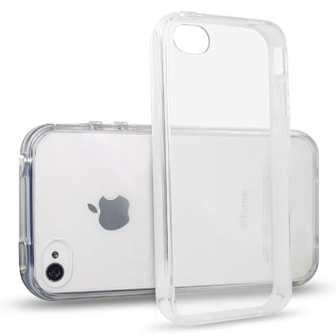 JETech® iPhone 4/4S Case Coque Housse Etui Shock-Absorption Bumper et
