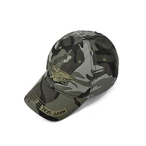 AAMOUSE Baseballmütze Hohe qualität camo baseballmütze männer Camouflage Navy Seal Tactical Cap Herren hüte und Kappen Knochen Armee Snapback für Erwachsene - Cap Camo Navy Seals