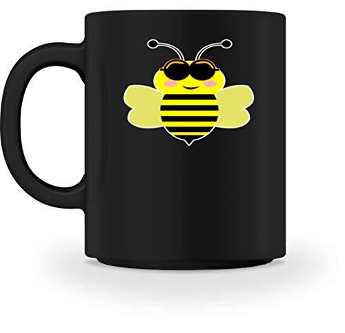 Coole Biene Mit Sonnenbrille Lustiges Motiv - Schlichtes Und Witziges Design - Tasse