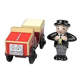 Il Trenino Thomas- Locomotiva Winston-Treno in Legno Giocattolo, FHM21