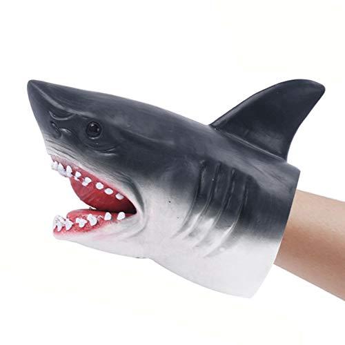 Kanggest Kinder Weichkleber Handspielzeug Shark Puppet Toy Kinderspielzeug für Babyspielzeug Outdoor