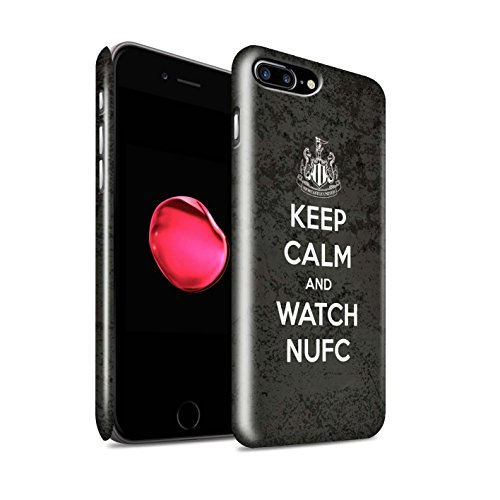 Officiel Newcastle United FC Coque / Clipser Brillant Etui pour Apple iPhone 7 Plus / Toon Sur Design / NUFC Keep Calm Collection Regarder NUFC