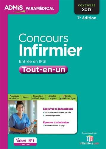 Concours Infirmier - Entrée en IFSI - Tout-en-un - Concours 2017