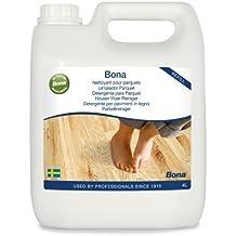 Bona WM740119012 - Botella de recambio para limpiador de parqués (4 L)