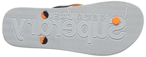Separatore Superdry Mens Scuba Toe Multicolore (blu Scuro / Fluro Arancio / Ottico)