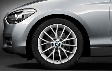 BMW Série 2 F22 F23 Kit complet de pneus d'été en Y 380 17\