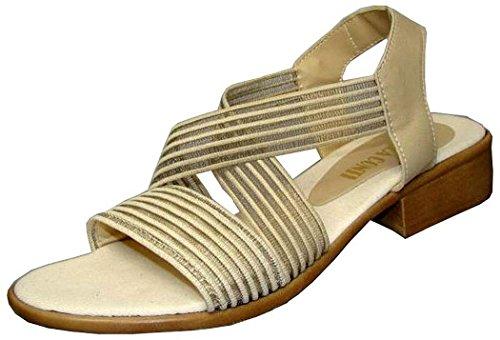 Andrea Conti Sandalen elastisch beige beige bunt