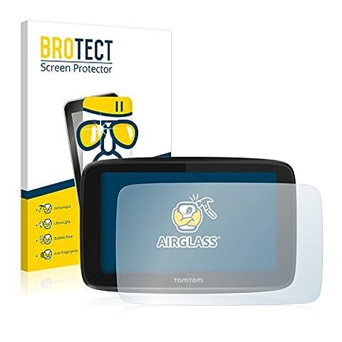 BROTECT AirGlass Protection Verre Flexible pour TomTom GO 5200 Film Vitre Protection Ecran Transparence - Extra Résistant, Ultra-Léger, Clair