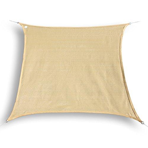 sonnensegel mit gestell 4x4 schnaeppchen center. Black Bedroom Furniture Sets. Home Design Ideas