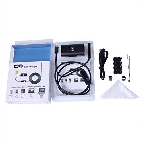 Q-HL Otoscopio Professionale Endoscopio WiFi, Otoscopio, HD 8mm, Adatto per telefoni Android