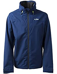 Gill Men's Pilot Jacket - Waterproof Inshore Sailing Jacket (Graphite, X-Small)