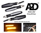 A2D Bike Sleek Amber LED Indicator for Yamaha SS 125 (Set of 4)