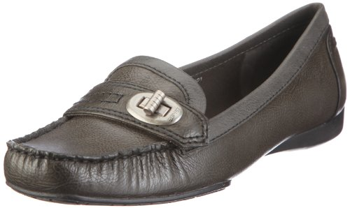 ESPRIT Patrizia Loafer U10301, Damen, Mokassins, Grau (lead grey 033), EU 38