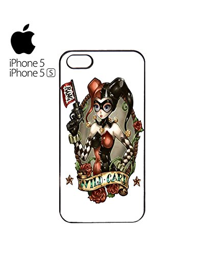 Joker Girl Women Wild Card Anime Manga Cute Star Mobile Phone Case Cover iPhone 6 Plus + White Blanc