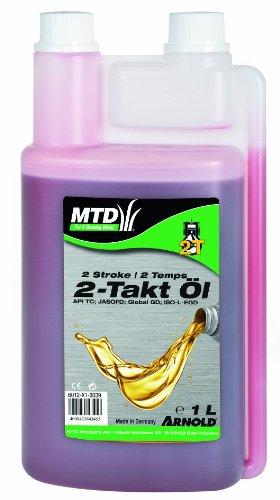 Arnold 6012-X1-0039 Original MTD 2-Takt Mixöl, 1 Liter in Dosierflasche