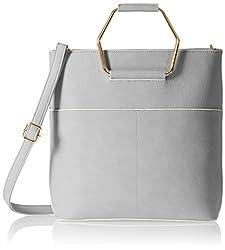 KNY Women's Handbag (Grey) (KNY053)