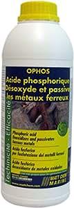 Matt Chem 950M Ophos Acide phosphorique désoxyde/passive les métaux ferreux