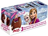 Disney Frozen Chocolate Eggs with 3D Collectables x 3 - Party/Loot Bag Fillers