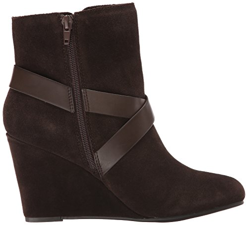 Chinese Laundry Ultimate Damen Rund Wildleder Kurzstiefel Chocolate