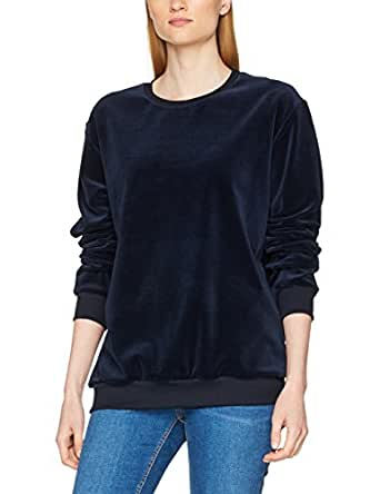 Trigema Damen Pullover 554501, Blau (Navy 046), Medium