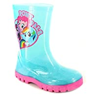 My Little Pony Rubber Wellies Wellington Boots Wellys Wellies Snow Boots Girls Kids Size UK 6-12