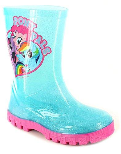 dchen Arbeits-Gummistiefel , blau - My Little Pony - Größe: 25 EU Kinder (My Little Pony Mädchen Schuhe)