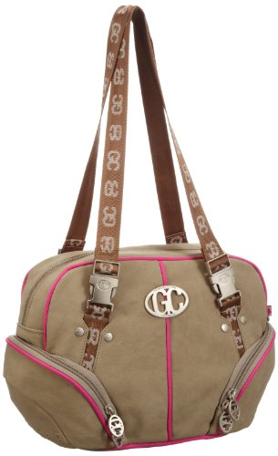Poodlebags GERMAN COUTURE - Bauhaus chic - Kahla - 3GC0213KAHLP, Borsa a spalla donna, 35x22x15 cm (L x A x P) Rosa (Pink (pink))