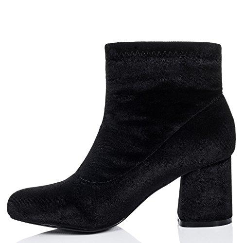 SPYLOVEBUY PALATIAL Damen Blockabsatz Stiefeletten Schuhe