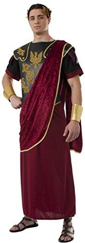 Kostüm Caesar Halloween - Rubie's 2810042STD Julius Caesar, Kostüm für Erwachsene, STD