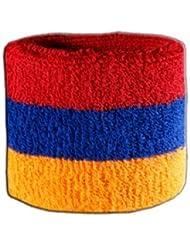 Digni® Poignet éponge avec drapeau Arménie