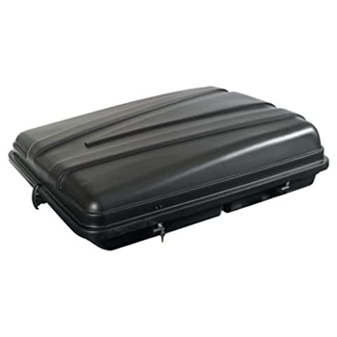 Autoplas 350 Capacity Litre Roof Box - All Black Roof Box