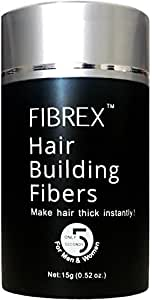 Fibrex Hair Building Thickening Fibers Loss Concealer Dark Brown 15g 0.52oz