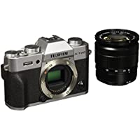 Fuji X-T20 24.3 MP 3-Inch LCD Camera with XC 16 - 50 mm MK II Lens Kit - Silver