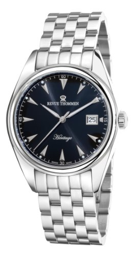 Revue Thommen Men's Automatic Watch Heritage Analog Stainless Steel 21010.2137