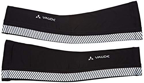 Vaude Luminum Arm Warmer II, Reflektierende Armlinge Black, XS/S