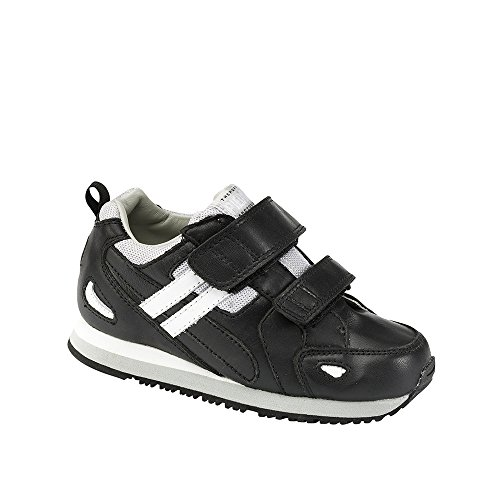 Piedro  Piedro Children's AFO Sports Style Shoes 3803, Sandales Compensées mixte enfant Noir