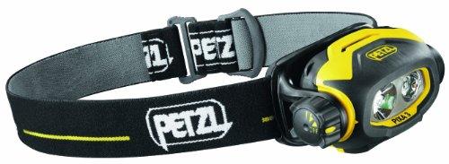 Petzl Erwachsene Stirnlampe Pixa 3, Schwarz/Gelb, One Size, E78CHB