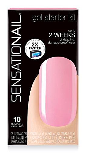 SensatioNail Starter Kit pink Chiffon, 1 Stück -