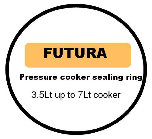 Futura Alu. Junta para olla a presión para 3,5 Lt a 7 Lt
