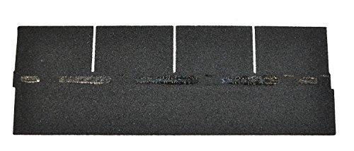 Bitumenschindeln Dachschindeln Rechteck Schindel Dachpappe Bitumen dunkelgrau 2,32 m²