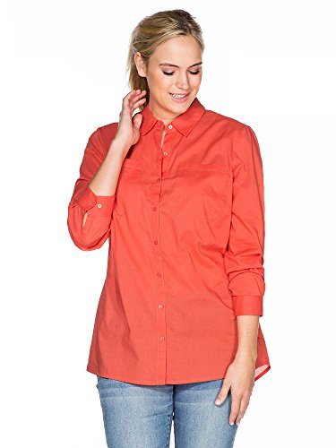 sheego Casual Femmes Blouse Grande taille nouvelle collection Corail