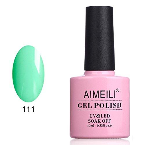 (AIMEILI UV LED Gellack ablösbarer Gel Nagellack Gel Polish - Calvus Resina (111) 10ml)