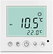 SM-PC?, Digital Thermostat Raumthermostat Fu?bodenheizung Wandheizung LED wei? #a31